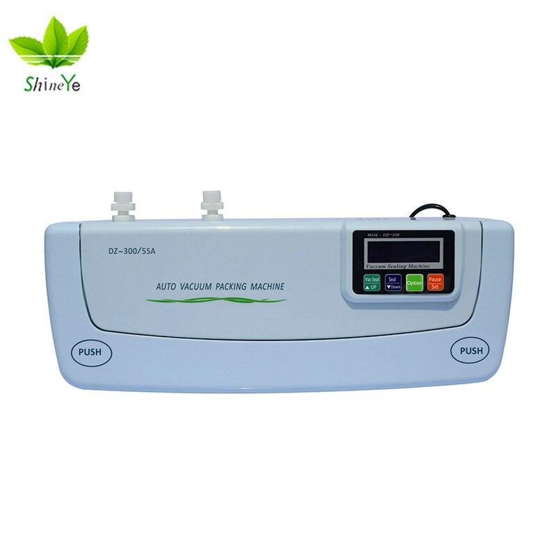 ShineYe DZ-300/5SA Alimentaire Des Ménages emballage sous vide machine d'emballage Film Scellant emballeur sous vide Y Compris Sacs