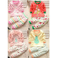 New Arrival New Born Baby Set Autumn Cute Animal T-Shirt + Pants 2PCS Boys Girls Kids Clothes For Girls Clothing Sets