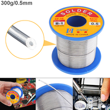 63/37 B-1 300g 0.5mm-2.0mm No-clean Rosin Core Solder Wires with 2.0% Flux and Low Melting Point for Electric Soldering Iron