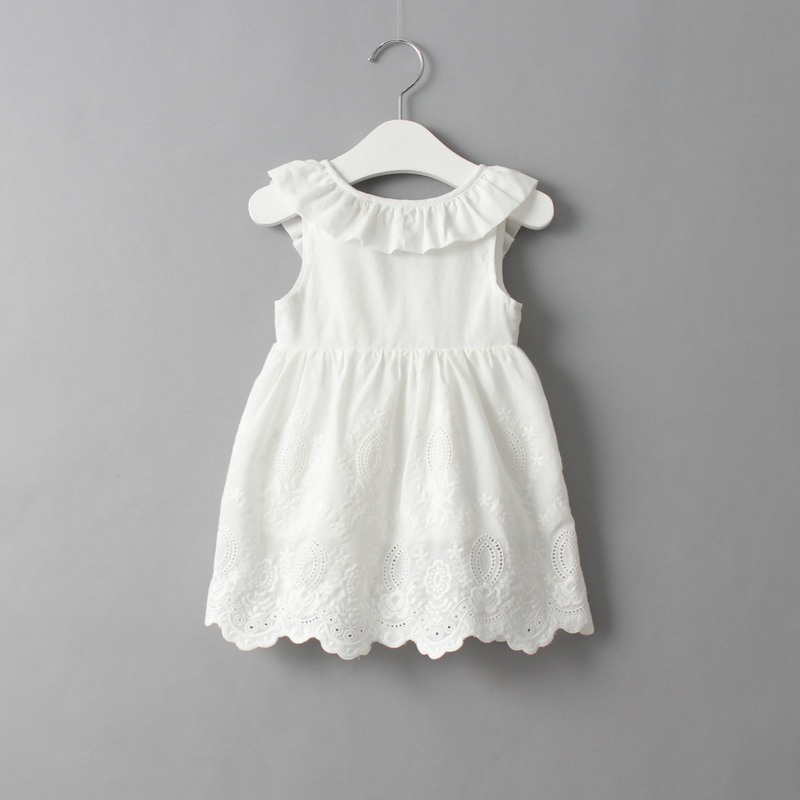 New 2018 summer kids girls cotton dress baby girls fashion cute beautiful child children vest dress fashion girls dress 2018 summer new