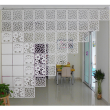 Room Divider Biombo Room Partition Wall Folding Screen Curtain Hanging Screen Partition 4PCS/LOT 29CMX29CM стоимость