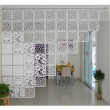 Room Divider Biombo Room Partition Wall Folding Screen Curtain Hanging Screen Partition 4PCS/LOT 29CMX29CM