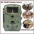 12mp 2.4 ''Color Monitor Câmera Digital Preto Animal Armadilha Caça Trilha de Vídeo Versão