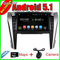 9'' Quad Core Android 5.1 Car Multimedia GPS For  Toyota CAMRY  2015 With Radio Video Mirror Link 16GB Flash Free Shipping