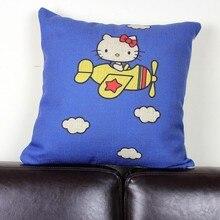 Hello Kitty pillow cover creative cartoon Animation hello kitty cat throw pillow cover pillow case wholesale