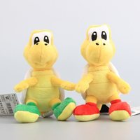 Super Mario Bros 2 Colors Koopa Troopa Turtles Plush Dolls Lovely Cartoon Turtle Stuffed Toys For