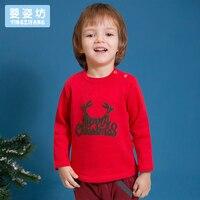 2017 Winter New Cartoon Character Christmas Cotton Casual Long Sleeve Sweatshirt Boys Girls Pullover Top Shirts