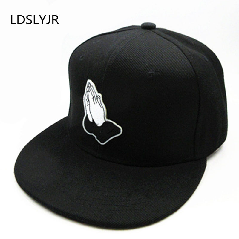 LDSLYJR 12 style gesture embroidery cotton black white Baseball Cap hip-hop cap Snapback Hats for kids and adult size wholesale spring cotton cap baseball cap snapback hat summer cap hip hop fitted cap hats for men women grinding multicolor