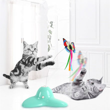 "Katė ""Electric Butterfly Flying"" ""Pet Cat"" kačiukas ""Toy Rotation"" Spalvingi interaktyvūs žaislai ""Tease"" ""Sticke"" ""Sūkuriai"" ""Butterfly"" ""Pet Supplies"""