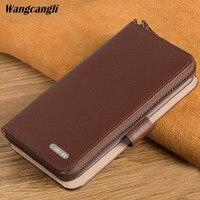 Brand Genuine Leather phone case for Handmade custom flip phone case For Nokia Lumia 930 630 640 650 950 XL Nokia 8 6 7 case