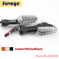 Motorcycle LED Turn Signal Indicator Light For KAWASAKI Z750 Z800 Z1000 Versys1000 Clean Color