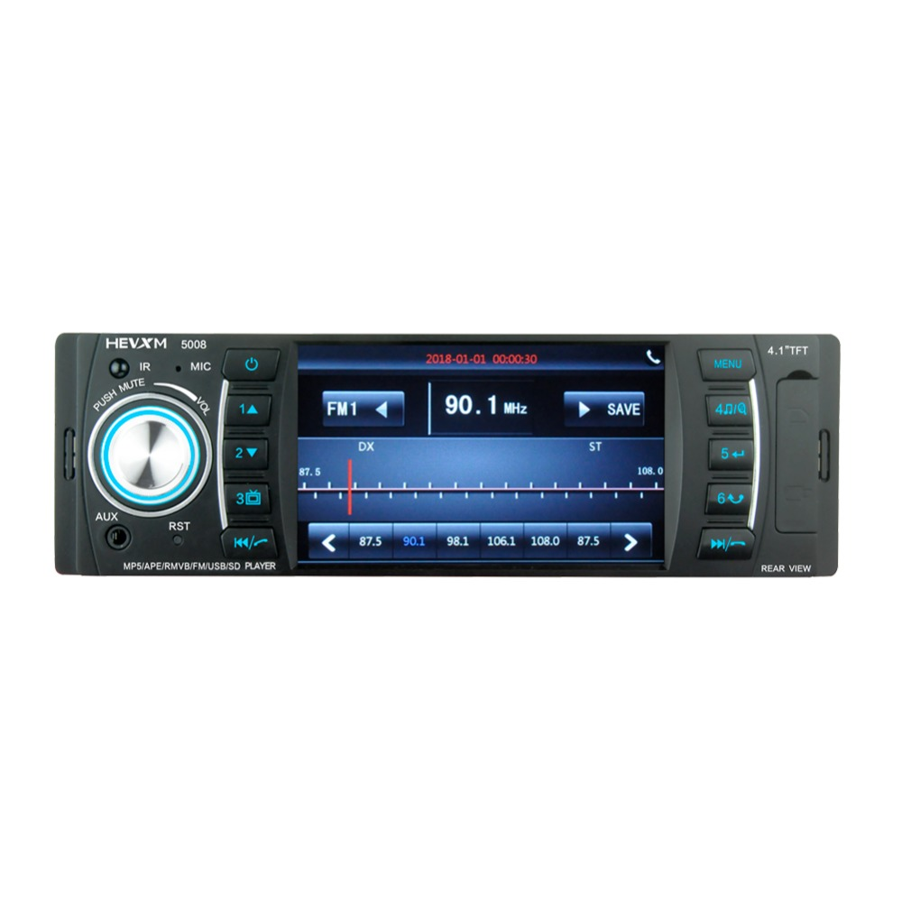 "Image 5 - HEVXM 5008 Universal Car MP5 player4.1"" Car Autoradio Video/Multi Media MP5 Player mp4 Car Stereo audio player with displa-in Car Radios from Automobiles & Motorcycles"