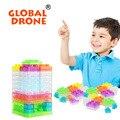 32 unids luminosa voz control electrónico bloques de construcción bloques de diy kits de circuito integrado circuito complemento modelo ciencia juguetes de los niños