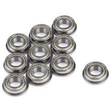 10pcs/Lot F688ZZ Miniature Double Shielded Steel Flanged  Ball Bearings  Metric Radial Mode Ball Bearing 8*16*5mm For Motor s6215 2rs stainless steel shielded miniature ball bearings size 75 130 25mm