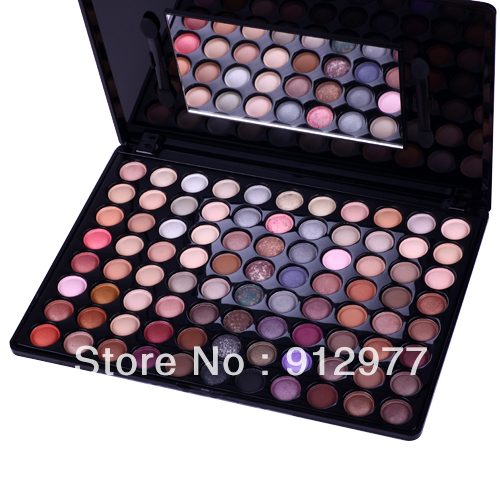 F88, 88 Color Eyeshadow Palette Makeup Set with Mirror