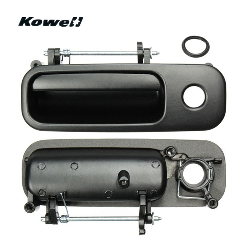 KOWELL Back Rear Tailgate Boot Luggage <font><b>Door</b></font> <font><b>Lock</b></font> Handle Exterior Out Trunk Handle for Volkswagen VW Polo MK3 <font><b>Golf</b></font> MK4 1J6827565B image