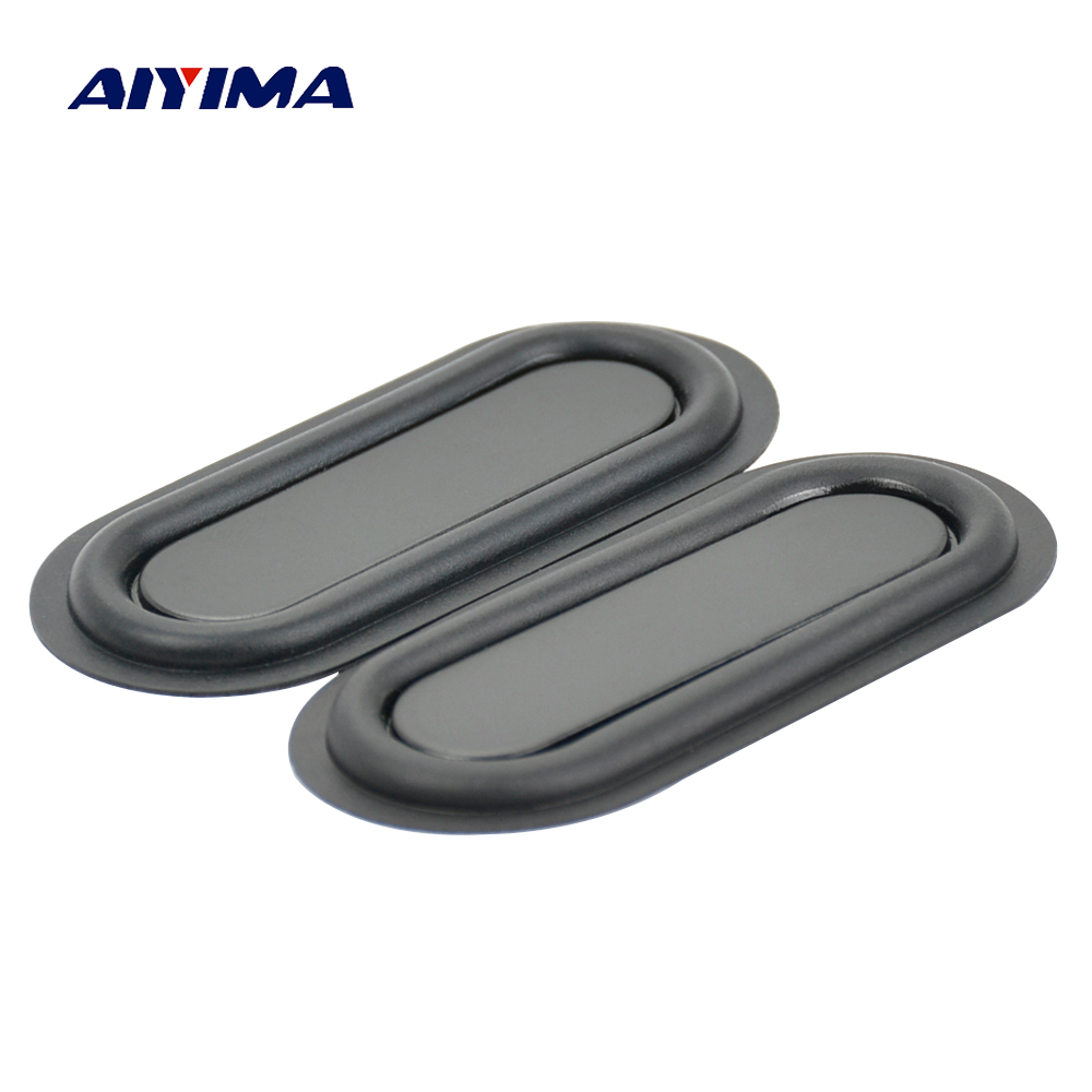 AIYIMA 2Pcs 30*70MM Bass Radiator Passive Radiator Speaker Vibration Diaphragm Enhanced Bass Diaphragm