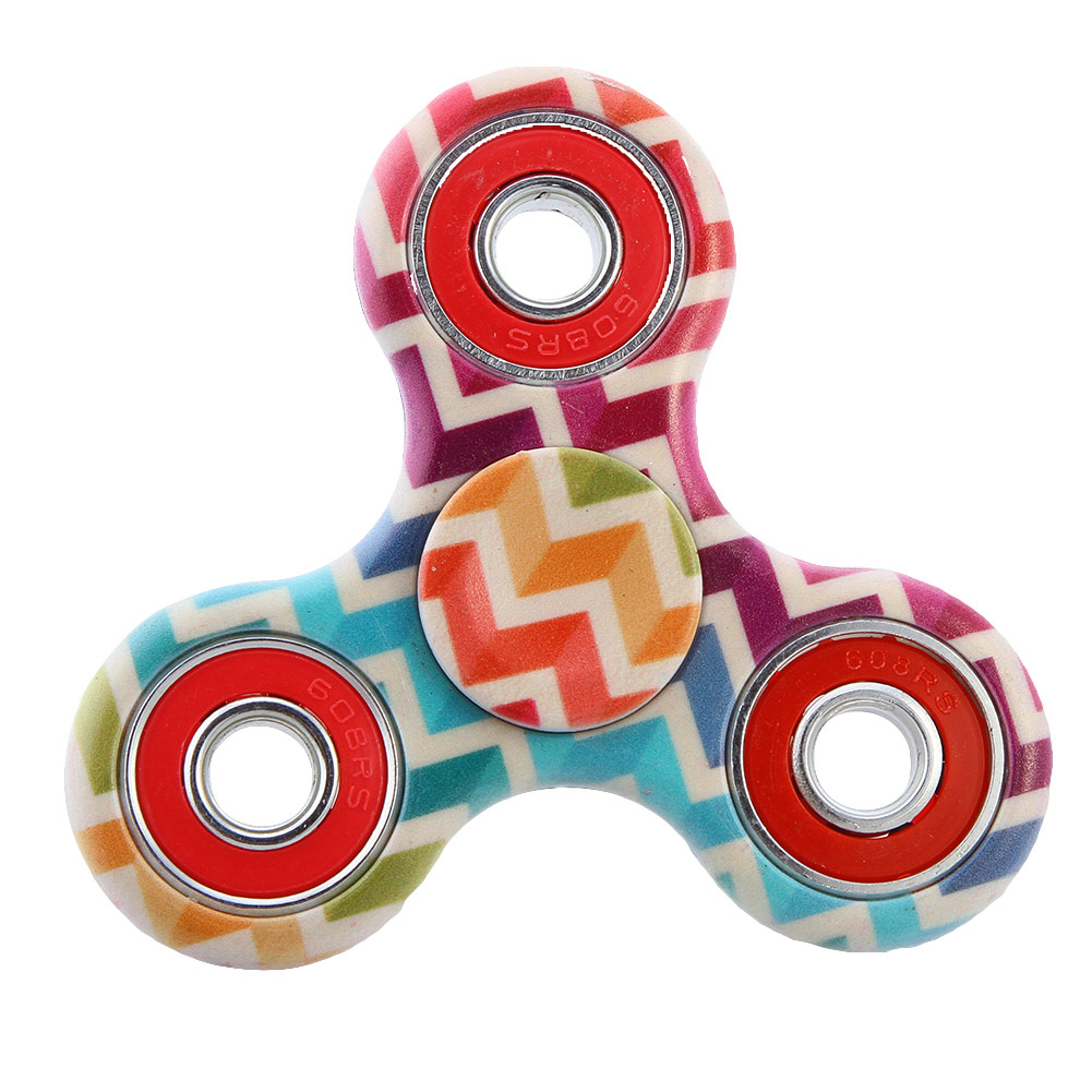 New Matte ABS Hand Fidget Toy EDC Hand Spinner For Autism and ADHD Rotation Anti Stress Relief Focus Toys
