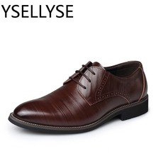 Big Sizes 38 48 Mens Dresses Shoes 2017 Spring Autumn Mens Classic Shoes Oxford Mens Leather