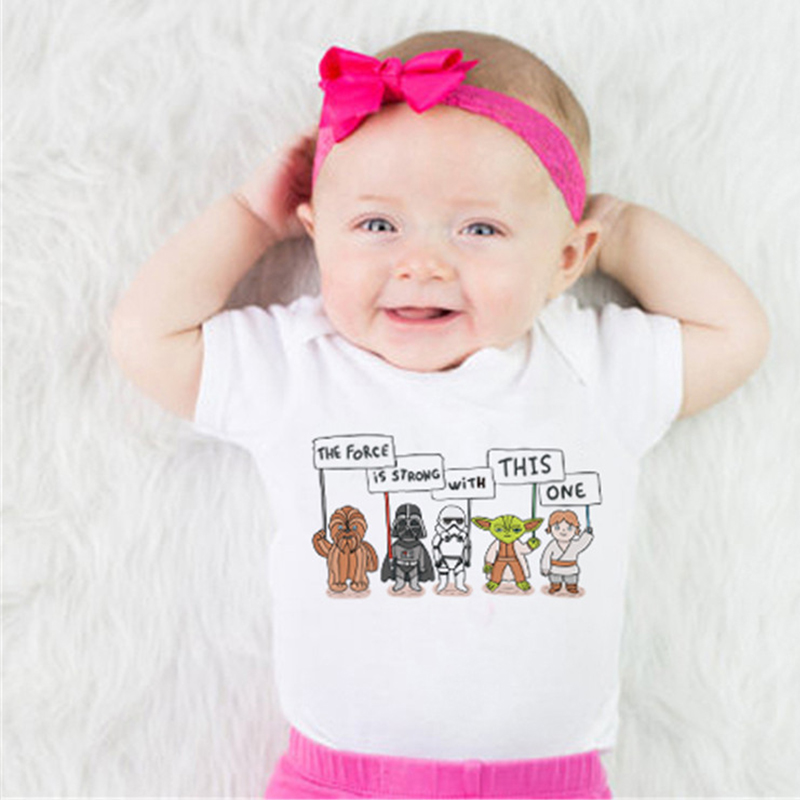 2018 Funny Baby Bodysuit White Babykleding New Born Bodysuit Animal - Babykleding - Foto 2