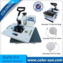 combo 4 in 1 heat press machine with CE Certificate