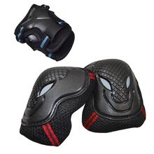 1pair Sport Safety Skating Protective Gear Set Elbow pads Bicycle Skateboard Ice Skating Roller Knee kneepad brace Protector s35