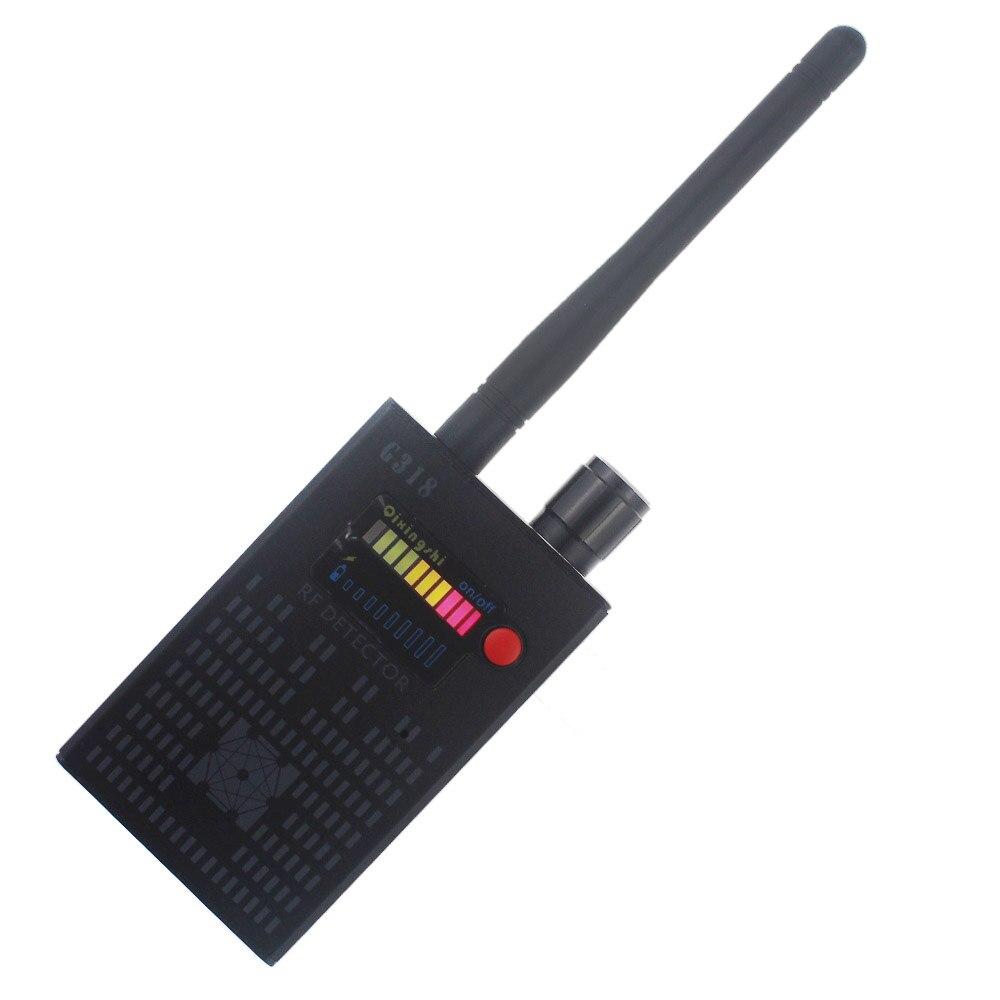 Gamme complète Pro Anti-espion Bug détecteur caméra sans fil Signal caché GPS RF GSM dispositifs Finder Scanner confidentialité protéger la sécurité
