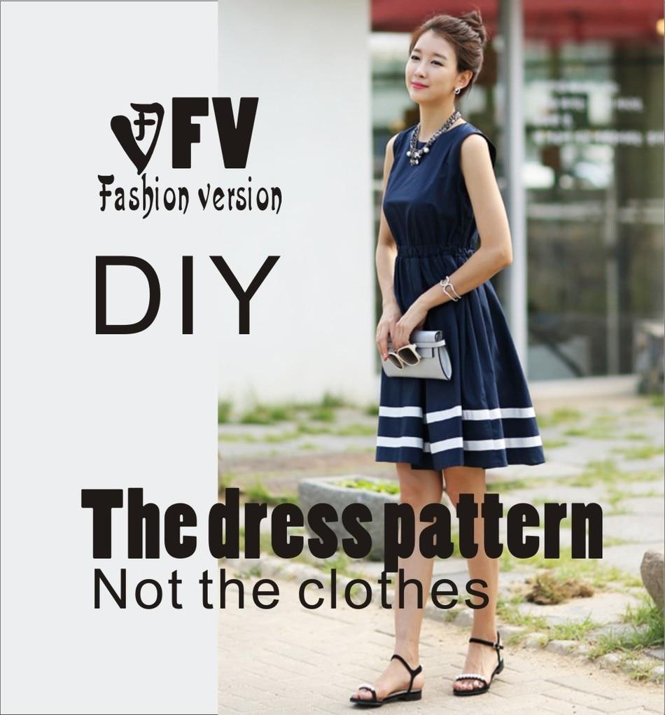 ツ)_/¯Vestidos Costura patrón plantilla Cúter dibujo ropa DIY (no ...