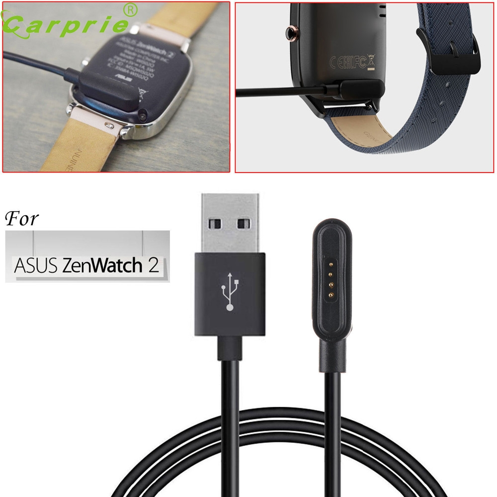 For ASUS ZenWatch 2 Smart Watch USB Magnetic Faster Charging Cable Charger LJJ0118
