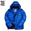 TIGER FORCE 2016 Новый Дизайн Модный Мужчин Пуховик 70% Белый Утка Пух Зимой Пуховое Пальто Куртка Европейский Размер Бесплатная Доставка D-590