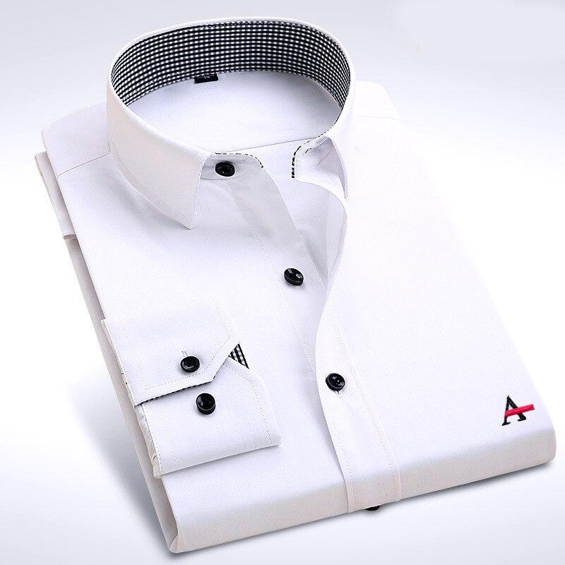 Dudalina 2017 Brand Men Shirt Male Dress Shirts