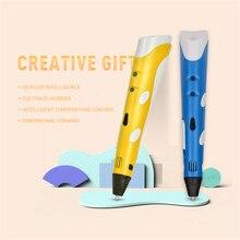 Penobon Magic 3D Drucker Stift Mit 1,75mm PLA Filament 3D Stift caneta 3D Zeichnung Stift Kreative Geschenk Für Kinder Malerei Stil 3D stift