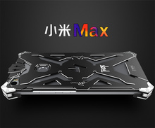 for Xiaomi MAX case Original Design Armor Heavy Dust Metal Aluminum THOR IRONMAN protect phone shell case cover for xiaomi MAX