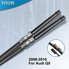 YITOTE стеклоочистители ветрового стекла для Audi Q5 Fit кнопка оружия 2008 2009 2010 2011 2012 2013