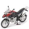 Caixa Original Alta Simulação Requintada Coleção Bebê Brinquedos RAStar Carro Styling R1200GS 1:9 Modelo de Moto Liga Melhores Presentes