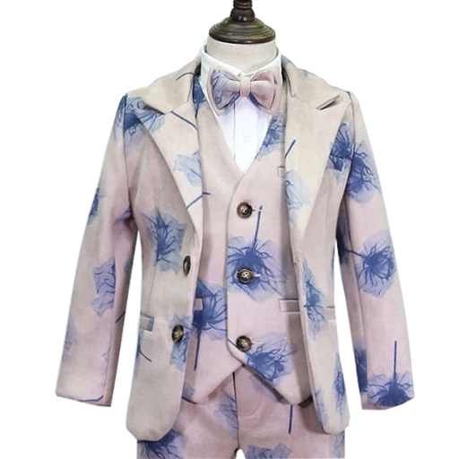 marfoli baby kids blazers suit for prom daily Casual Double Breasted boy's suit flower boy