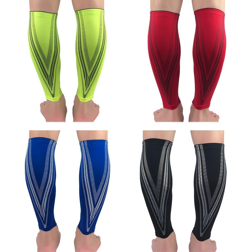 Protection Leg Calf Brace Support Leg Sleeve Elastic Outdoor Basketball Football LFSPR0051