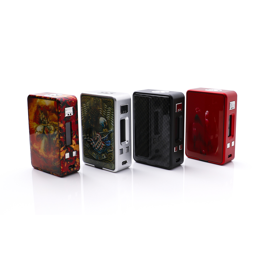 orginal Hcigar VT Inbox Squonk TC Box Mod with Evolv DNA75 chip internal squonk bottle for e cigarettt bottom feeding RDA or RTA