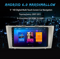 9 Android 6 0 Auto Radio For Toyota Camry 2007 2011 Car GPS Player Stereo With