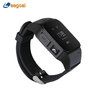 D99 Elderly Smart Watch For Android Google Map SOS Wristwatch Personal GSM GPS LBS Wifi Safety