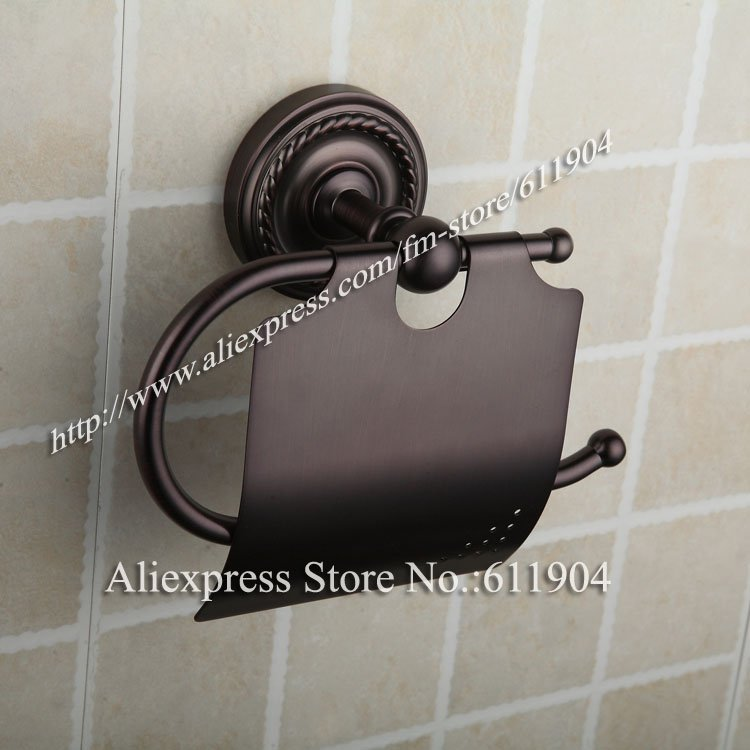 ФОТО Oil Rubbed Bronze ORB Toilet Paper Holder Bathroom Accessores Roll Holder 303020101