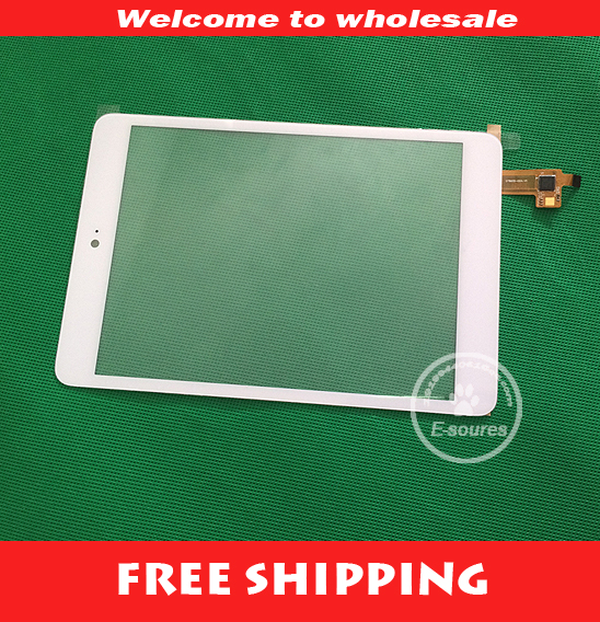 White New 7.85inch Tablet 078005-02A-V1 Touch Screen Touch Panel Digitizer Glass Sensor Replacement Free Shipping new white 10 1 inch tablet 10112 0b50550 touch screen panel digitizer glass sensor replacement free shipping