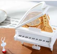 Clockwork Music box classical piano type music box creative gifts girl dancing ballet rotation Laputa birthday gift