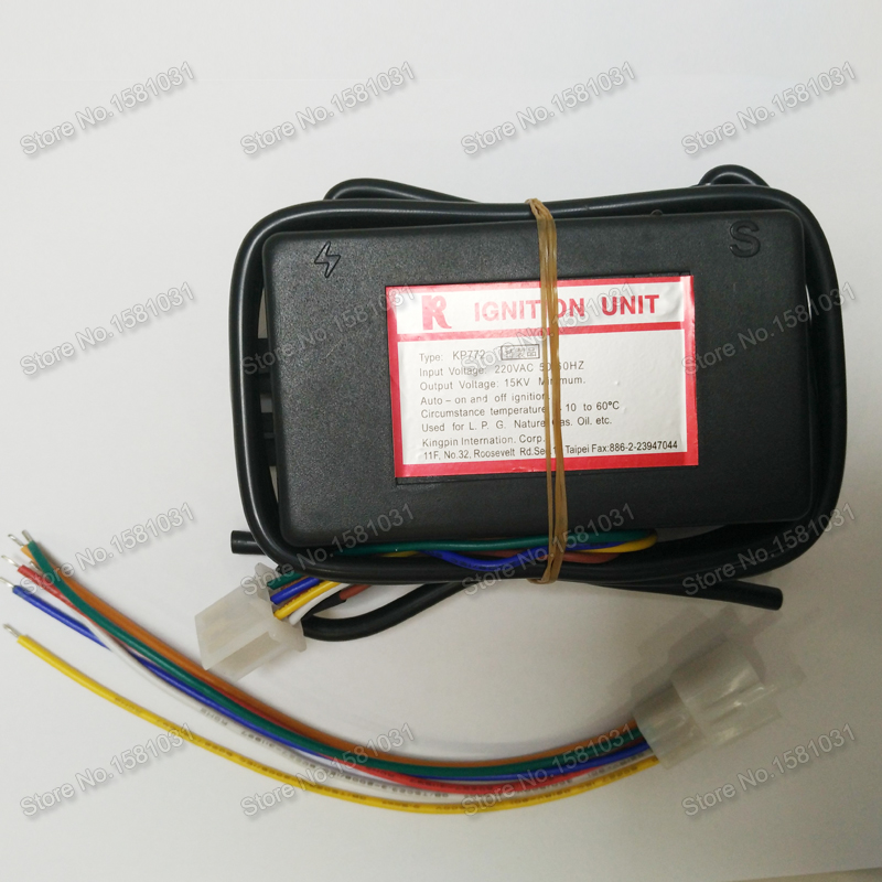 KP772 gas fuel heater gas ignition controller Industrial furnace pulse ignition controller
