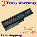 JIGU 5200mah 6 cells Replacement Laptop Battery For IBM ThinkPad R60 R60e T60 T60p Lenovo ThinkPad R500 T500 W500 laptop