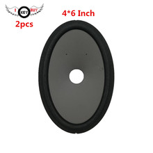 цена на 4 *6 Inch Oval Speaker Paper Cone ( 152 mm*104 mm*22 mm) Height 45 mm  With Foam Edge Woofer Paper Cones