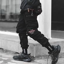 Multi Pockets Cargo Harem Jogger Pants Men 2019 Hip Hop Fashion Casual Track Trousers Streetwear Harajuku Hipster Sweatpants