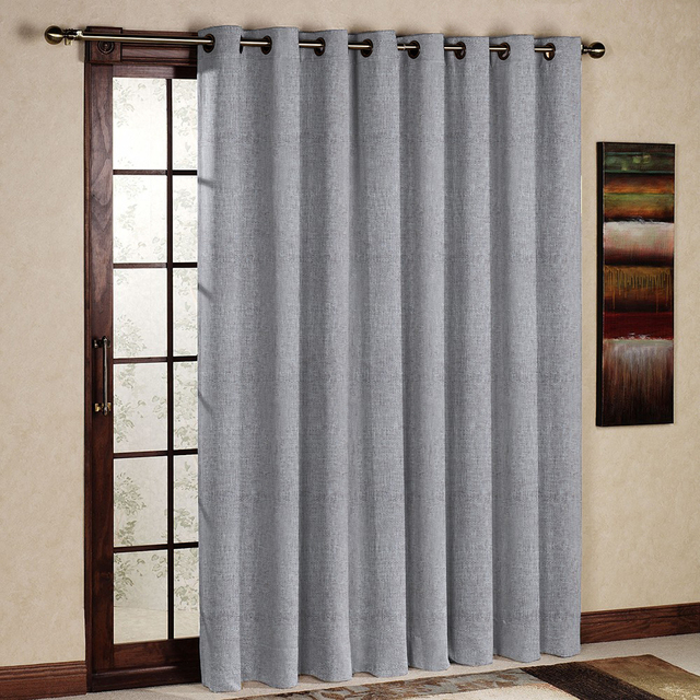 Curtains Ideas curtain panel styles : Aliexpress.com : Buy One Panel Per Pack Opal Gray Bay Window ...