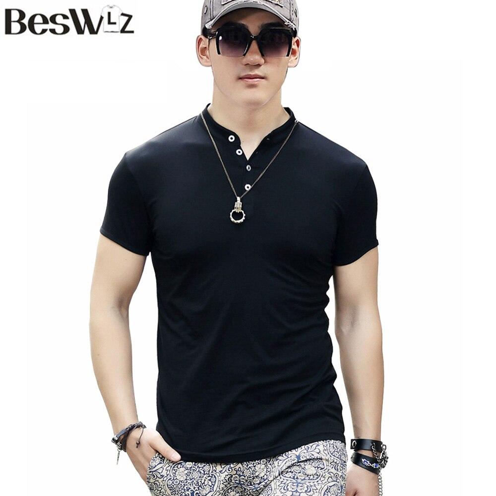 Beswlz Men Short Sleeve T-Shirts Summer s