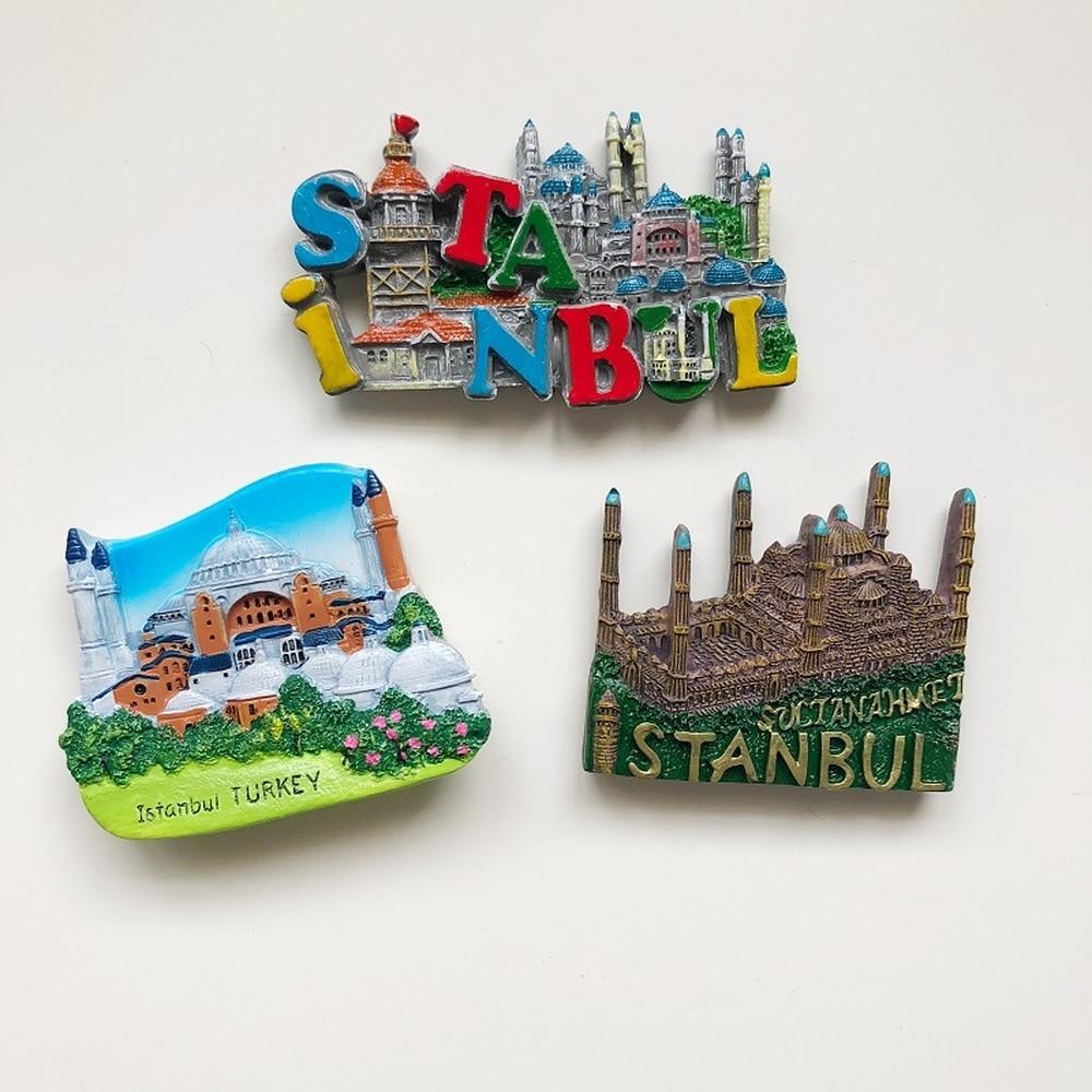 3D Refrigerator Magnet,Shanghai Dusk Famous Tourist Souvenirs,Resin Fridge Magnet Home and Kitchen Decoration,China Promotion Gift